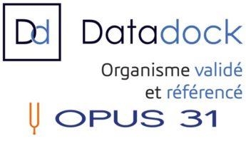 OPUS 31 - organisme de formation référencé DataDock