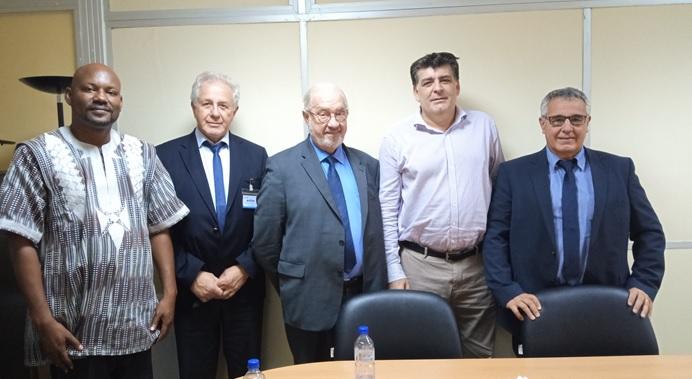 Rencontre avec la Direction Générale de Bolloré transport et logistique à Ouagadougou