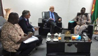 Rencontre avec Vincent DABILGOU, Ministre des transports de la Mobilité Urbaine et de la Sécurité Routière