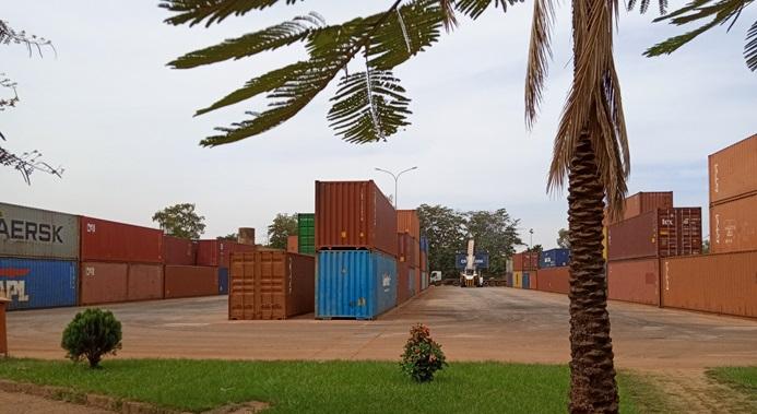 Plate-forme logistique de la CCI du Burkina Faso à Ouagadougou